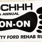 OCHHH Betty Ford Rehab Hash X (1996) Decal Sticker