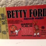 OCHHH Betty Ford Rehab Hash XXVIII (2014) Mark McGwire and Barry Bonds Admit tag