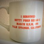 OCHHH Betty Ford Rehab Hash V Mug Front (1991) Frank Sinatra