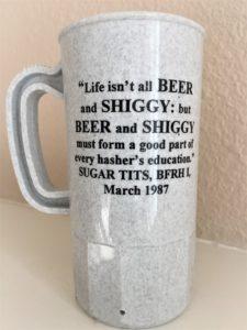 OCHHH Betty Ford Rehab Hash XI (1997) Jerry Garcia Mug Back