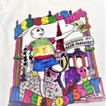 Hash Boy Brussels Beer Odyssey 2014 Hand-Colorized Event Shirt Tee
