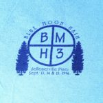 Hash Boy Blue Moon Hash BMH3 (1996) Tee Front by Nut N Honey
