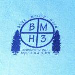 Hash Boy Blue Moon Hash BMH3 (1996) Tee Front