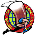 Hash Globally Drink Locally Logo by Nut N Honey