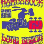 Long Beach LBH3 Hashstock (2004) Tee Front