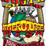 California North/South Intercourse Hash (2003) Long-Sleeve Tee Front by Nut N Honey
