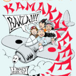 WWII plane Hash Boy OCHHH Kamakazee Hash (1997) Long-Sleeve Tee Back by Nut N Honey