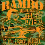 OCHHH Rambo Hash (2001) Tee Front