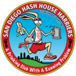 SDH3 San Diego Hash House Harriers Logo by Nut N Honey