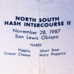 California North/South Intercourse II Hash (1987) Short-Sleeve Tee designed by artist Anna Flores