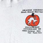 OCHHH Halloween Interhash (1986) Tee Front