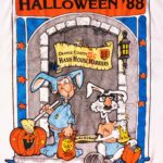 OCHHH Halloween Beware the Hare Hash (1988) Tee Back by Squealer