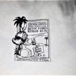 OCHHH Betty Ford Rehab Hash II (1988) Tee Front - Jim & Tammy Faye Bakker