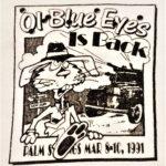 OCHHH Betty Ford Rehab Hash V Tee Front by Squealer (1991) Frank Sinatra