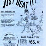 OCHHH Betty Ford Rehab Hash VIII BFR Flyer (1994) Michael Jackson