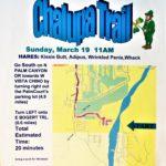 OCHHH Betty Ford Rehab Hash XIV Sunday Run Flyer (2000) Dean Martin