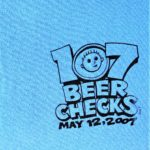 Hash Boy 107 Beer Checks (2007) Tee Front by Nut N Honey