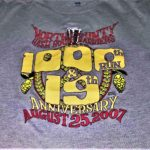 NCH3 North County Hash House Harriers 19th Anniversary 1000th (2007) Tee Front by Nut N Honey