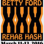 OCHHH Betty Ford Rehab Hash XXX Character Tee Shirt Front (2016)