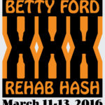 OCHHH Betty Ford Rehab Hash XXX Character Tee Shirt Front (2016) by Nut N Honey