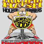 Humpin' Hash House Harriers Bar2Bar (2001) Tee Back