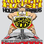 Humpin' Hash House Harriers Bar2Bar (2001) Tee Back