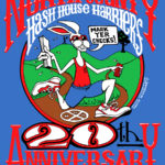NCH3 North County Hash House Harriers 20th Anniversary (2008) Tech Tee Front by Nut N Honey