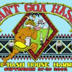 No Goa Hash Maui H3 (2002) Tee Front by Nut N Honey