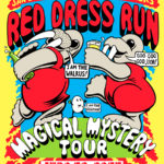 San Diego Hash House Harriers Red Dress Run (2015) by Nut N Honey