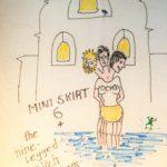 OCHHH Mini Skirt 6 Hash Tee by Knee Deep