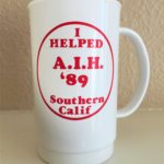 America's Interhash Southern California (1989) Mug back