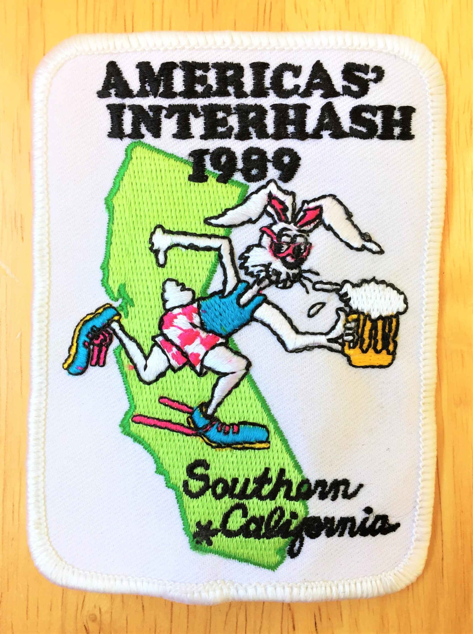 America's Interhash Southern California (1989) Hash Patch by Manhandler