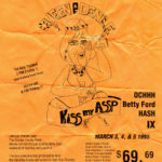 OCHHH Betty Ford Rehab Hash IX BFR Flyer (1995) Liz