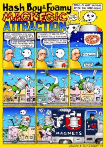 Hash Boy #67 Magkegic Attraction