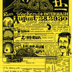 Long Beach LBH3 400th Run Weekend Camp Arbolado (1992) Flyer by Nut N Honey