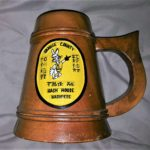 OCHHH Orange County California Hash House Harriers Hash Beer Mug made of wood