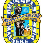 Brussels Manneke Piss Belgian Nash Hash (2018) Logo by Nut N Honey