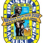 Brussels Manneke Piss Belgian Nash Hash (2018) Logo by Nut N Honey