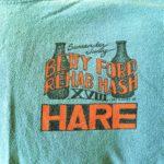 OCHHH Betty Ford Rehab Hash XVIII Hare Tee Shirt Front (2004) Judy Garland