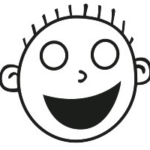 HBmoji™ Open Grin Hash Boy