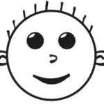 HBmoji™ Smiley Hash Boy