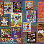 Harrier Magazine: Betty Ford Rehab Hash XXV Nut N Honey tee designs