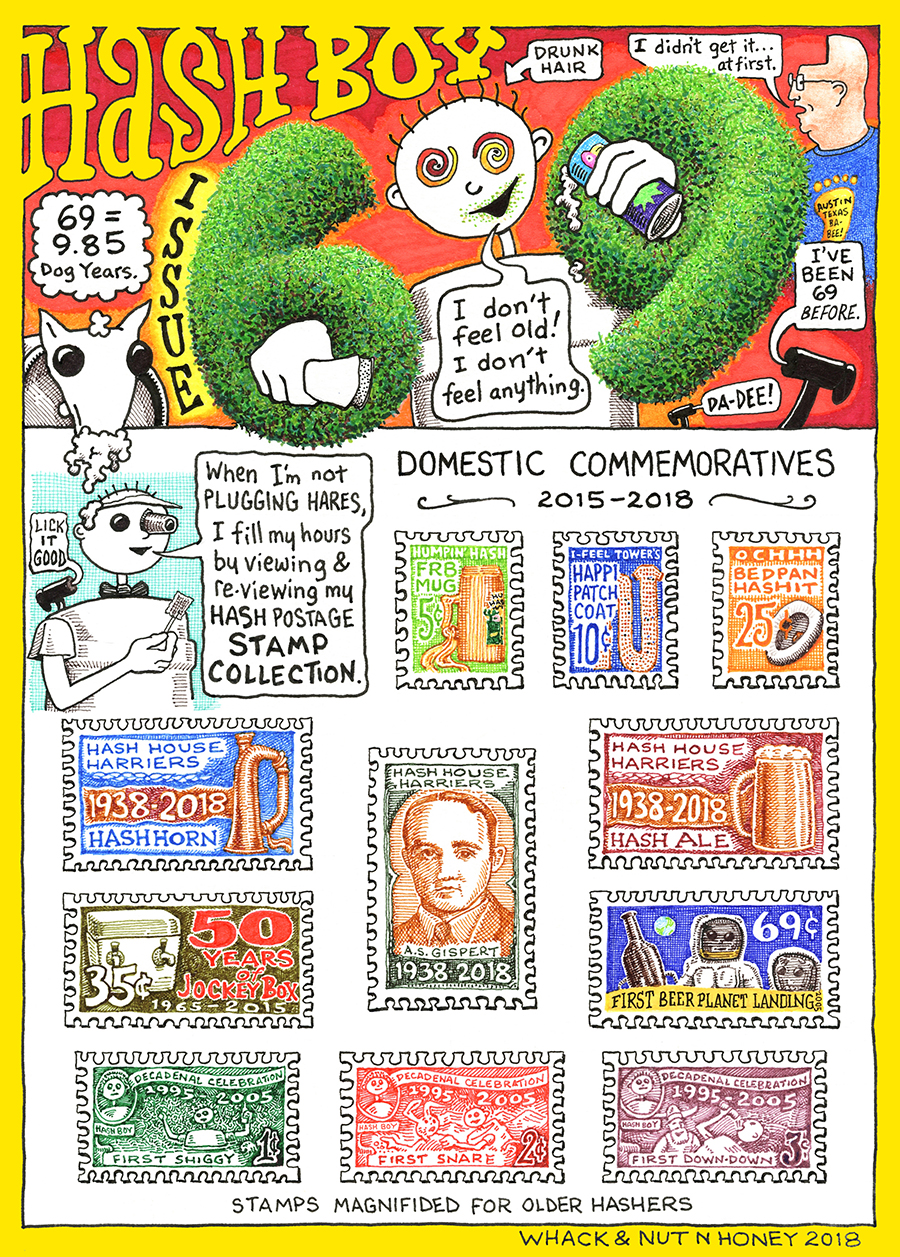 Hash Boy #69 Stamp Collection