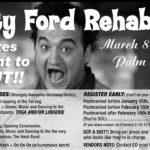 OCHHH Betty Ford Rehab Hash XXVII BFR Rego (2013) John Belushi