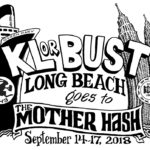 Long Beach LBH3 Mother Hash 80th Anniversary (2018) Tee Front by Nut N Honey