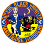 Queens Black Knights Hash House Harriers Hash Logo Patch (2013) by Nut N Honey