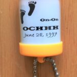 Small hashing souvenir keychain flashlight OCHHH hash kennel