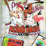 Harrier Magazine: OCHHH Betty Ford Rehab Hash XXVIII (2014) Mark McGwire & Barry Bonds