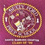 H3SOB Santo Barbara Betty Ford Prep School (Class of 1999) Humphrey Bogart Back