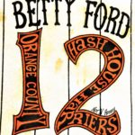 OCHHH Betty Ford Rehab Hash XII Jersey Shirt Front (1998) Mickey Mantle